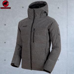 マムート(MAMMUT) SERAC IN Hooded Jacket Men カラー:0033 black m?lange(MAMMUT_2018FW) move