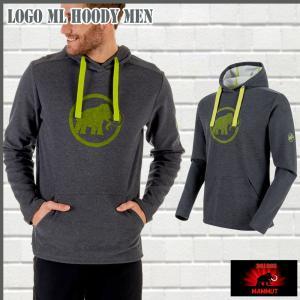 マムート MAMMUT Mammut Logo ML Hoody Men  graphite melange-sprout ジャケット (MMT_2018SS) 18ddscn|move