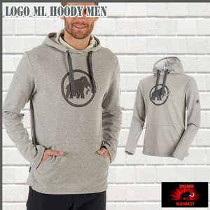 マムート MAMMUT Mammut Logo ML Hoody Men  granit melange-titanium ジャケット (MMT_2018SS) 18ddscn|move