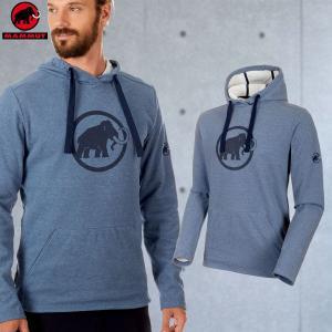 マムート(MAMMUT) Mammut Logo ML Hoody Men カラー:5833 marine melange-marine(MAMMUT_2018FW)|move