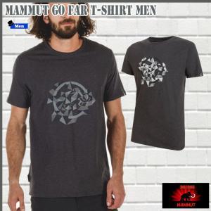 マムート Go Far Tシャツ  00100 MAMMUT Go Far T-Shirt Men (mmt_2018ss) 18ddscn|move
