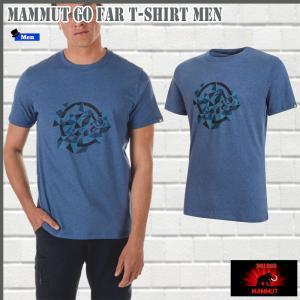 マムート Go Far Tシャツ  50016 MAMMUT Go Far T-Shirt Men (mmt_2018ss) 18ddscn|move