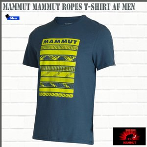 マムート MAMMUT Mammut Ropes T-Shirt AF Men  jay Tシャツ (MMT_2018SS) 18ddscn|move