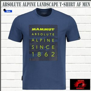 マムート MAMMUT Absolute Alpine Landscape T-Shirt AF Men  jay Tシャツ (MMT_2018SS) 18ddscn|move