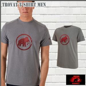 マムート MAMMUT Trovat T-Shirt Men  titanium melange Tシャツ (MMT_2018SS) 18ddscn|move