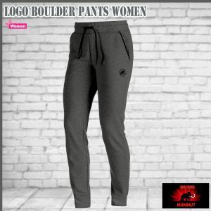 マムート ロゴボルダーパンツ (女性用) 0397 graphite melange MAMMUT Logo Boulder Pants Women|move