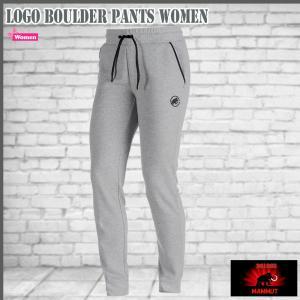 マムート ロゴボルダーパンツ (女性用) 0819 granit melange  MAMMUT Logo Boulder Pants Women 18ddscn|move