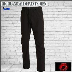 マムート ハイランド スリムパンツ 0001 black MAMMUT HIGHLAND Slim Pants Men|move