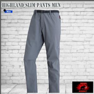 マムート ハイランド スリムパンツ 0051 titanium MAMMUT HIGHLAND Slim Pants Men|move