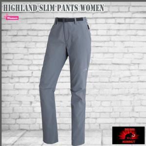 マムート ハイランド スリムパンツ (女性用) 0051 titanium MAMMUT HIGHLAND Slim Pants Women|move