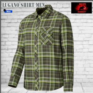マムート シャツ ルガノシャツ  MAMMUT Lugano Shirt Men 4967 (MMTBGN)|move