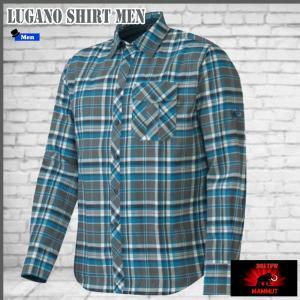 マムート シャツ ルガノシャツ  MAMMUT Lugano Shirt Men 5894 (MMTBGN)|move