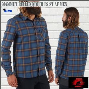MAMMUT BellunoTour LS ST AF Menマムート ベルーノツアーロングスリーブシャツアジアンフィットカラー:5965 move