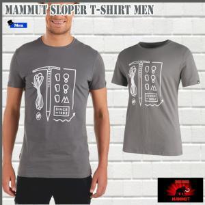 マムート Sloper  Tシャツ  0051 MAMMUT Sloper T-Shirt Men (mmt_2018ss) 18ddscn|move