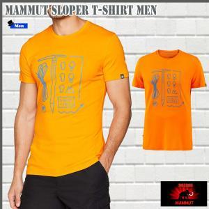 マムート Sloper  Tシャツ  2166 MAMMUT Sloper T-Shirt Men (mmt_2018ss) 18ddscn|move