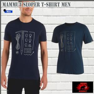 マムート Sloper  Tシャツ  5118 MAMMUT Sloper T-Shirt Men (mmt_2018ss) 18ddscn|move