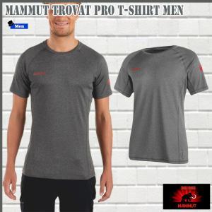 マムート トロバットプロ  Tシャツ  0397 MAMMUT Trovat Pro T-Shirt Men (mmt_2018ss) 18ddscn|move