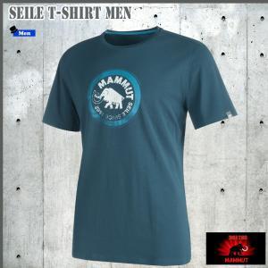 値下げ MAMMIT(マムート) Seile T-Shirt Men  ザイルTシャツ カラー:5325  GLOBALモデル (MAMMUT_17SS) move