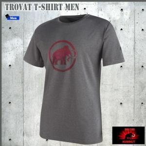 値下げ MAMMIT(マムート) Trovat T-Shirt Men  トロバットTシャツ カラー:0998  GLOBALモデル (MAMMUT_17SS) move