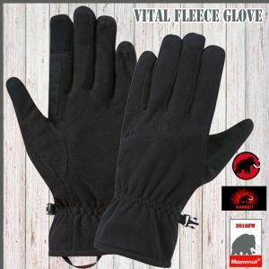 MAMMUT(マムート) Vital Fleece Glove カラー:0001   (mammut_2016FW)(PDN)|move