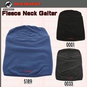 MAMMUT Fleece Neck Gaiter (マムート)  (MMTBGN)|move