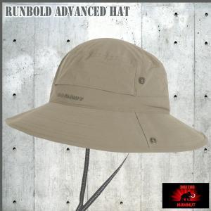 MAMMUT(マムート) Runbold Advanced Hat  ランボールドアドバンスハット《MAMMUT_2016SS》|move