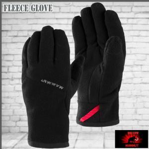 マムート グローブ手袋 フリースグローブ MAMMUT Fleece Glove 0001 move