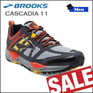 ランニングシューズ BROOKS(ブルックス) MEN CASCADIA 11 (092)