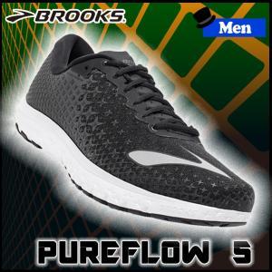 ランニングシューズ ブルックス BROOKS メンズ PUREFLOW 5 (028) マラソン ジョギング brk-16ss|move