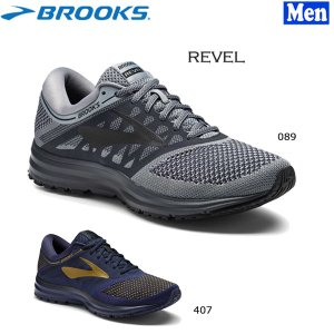 SALE メンズ ランニングシューズ ブルックス BROOKS REVEL レベル ランシュー ワイズD|move