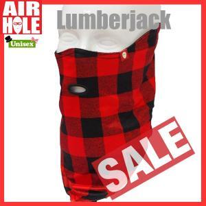 AIRHOLE エアホール STANDARD 1 カラー:Lumberjack フェイスマスク sps-sb ah-ss|move
