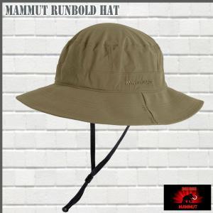 マムート MAMMUT Runbold Hat  dolomite 帽子 (MMT_2018SS)(18帽子) 18ddscn|move