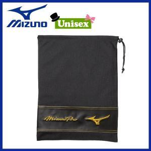 野球 シューズ袋 一般用 ミズノ MIZUNO ミズノプロ ブラック|move