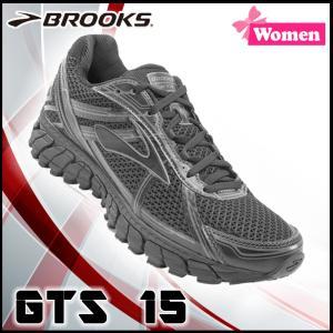 ランニングシューズ ブルックス BROOKS レディース GTS 15 (068) マラソン ジョギング 【old-bks】 rn-50  あすつく|move