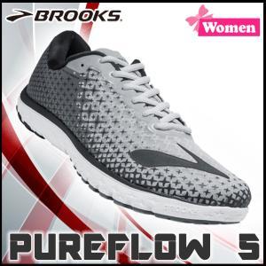 ランニングシューズ ブルックス BROOKS レディース PUREFLOW 5 (004) マラソン ジョギング brk-16ss|move
