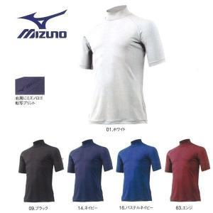 野球 MIZUNO ミズノ 一般用アンダーシャツ DRY ハイネック 半袖|move