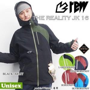 スノーボード ウエア 17-18 REW(アールイーダブリュー) THE REALITY JK  GORE-TEX  ≪17-18REW_wr≫|move