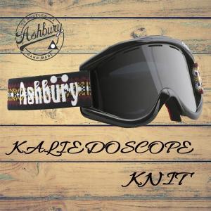 スノーボード ゴーグル 17-18 ASHBURY 【アシュベリー】 KALIEDOSCOPE カイドスコープ KNIT<br>|move
