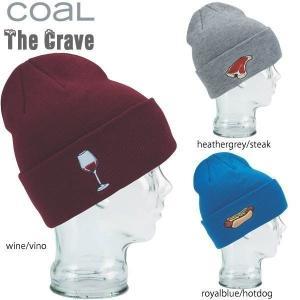 スノーボード ビーニー 帽子 キャップ ニット帽  coal 【コール】 CRAVE BEANIE<br>|move