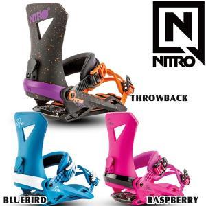 スノーボード ビンディング バインディング 18-19 NITRO ナイトロ ZEROゼロ move