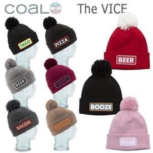 スノーボード ビーニー ニット帽 COAL コール VICE バイス|move