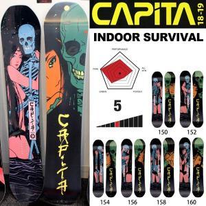 スノーボード 板 18/19 CAPiTA キャピタ INDOOR SURVIVAL インドアサバイバル|move