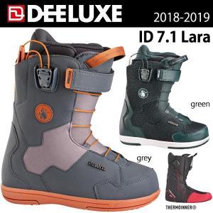 日本正規代理店商品スノーボード ブーツ 靴 18/19 DEELUXE ディーラックス ID 7.1...