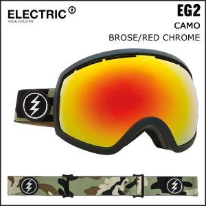 特典付き♪スノーボード ゴーグル 17-18 エレクトリク EG2 CAMO BROSE/RED CHROME|move
