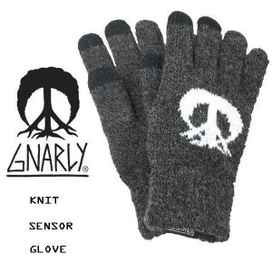 スノーボード ニット 手袋  グローブ GNARLY KNIT SENSOR GLOVE<br><br>|move