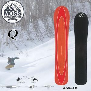 スノーボード 板 パウダー カービング フリーライディング 18-19 MOSS モス Q キュー|move
