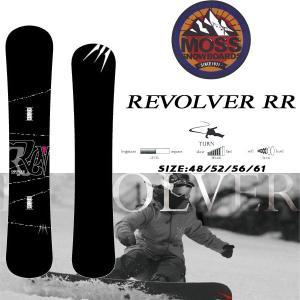 スノーボード 板 セミハンマー 振動吸収 カービング 18-19 MOSS モス REVOLVER RR リボルバーダブルアール|move