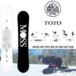スノーボード 板 ツイン フリーライド パイプ パーク グラトリ 18-19 MOSS モス TOTO トト|move