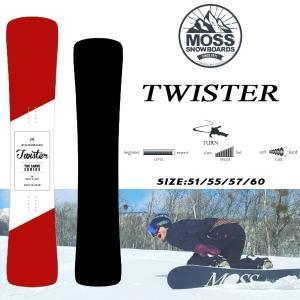 スノーボード 板 薄いメタル ハンマーヘッド 反応のいいカービング 18-19 MOSS モス TWISTER ツイスター|move