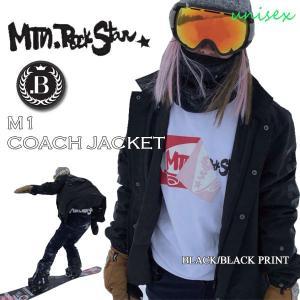 スノーボード ウエア ウェアー ジャケット 18-19 MOUNTAIN ROCKSTAR マウンテンロックスター M1COACH JACKET エムワンコーチジャケット|move